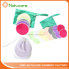 Washable Sanitary Bamboo Cloth Resuable Nursing Pad