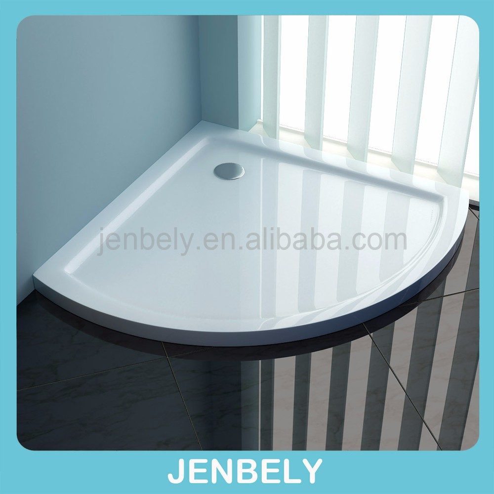 Shower Enclosure Tray Cubicle White Rectangle Square tray