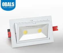 Samsung chip housing square retrofit dimmable recessed led downlight