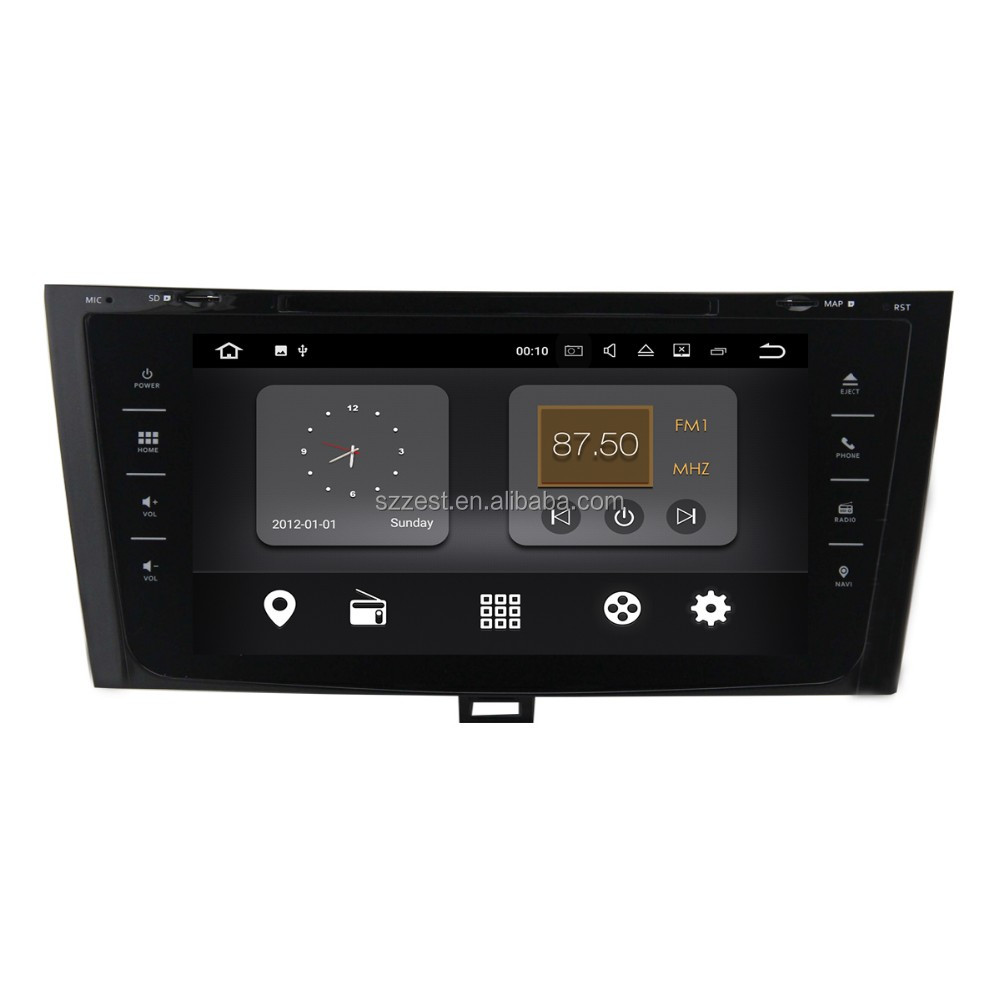 High quality OEM Android 7.1.2 2+16G car gps radio BT FM AM wifi , for jac j5 car cd player/