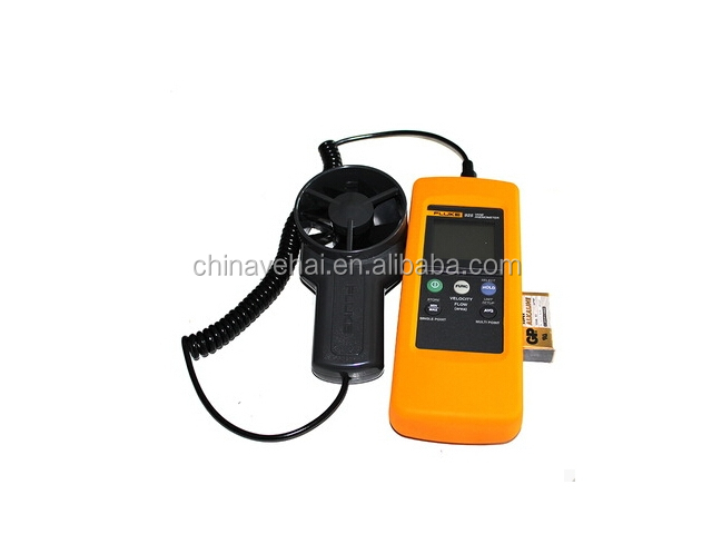 Fluke-925 Impeller Anemometer,Wind Speed Air Flow Velocity Measuring Instruments/Temperature/Amount Measure Anemometer