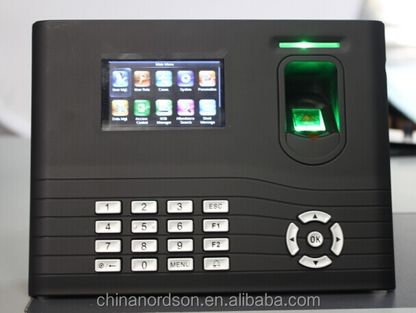 Punch card verification optional fingerprint time attendance machine ( FR-IN01)