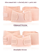 Factory supplier CE FDA polyester postpartum belly slimming belt after baby