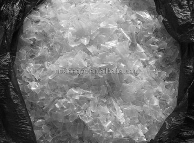 Hot/cold Washed Bottle Scrap PET Flakes/pellet