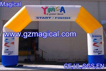 inflatable commerical arch entrance/inflatable advertising entrance arch