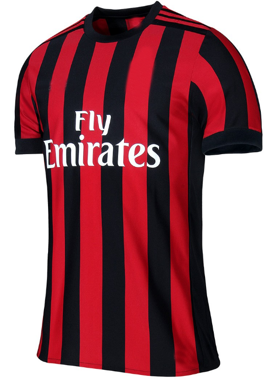 wholesale Top Th quality cheap 2017 AC milan soccer jersey