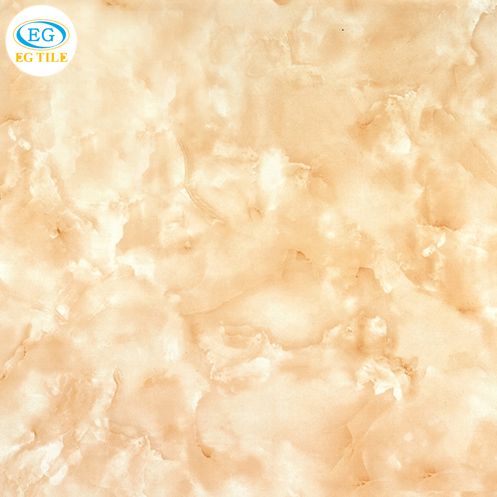 "Foshan new design indoor imitate onxy discontinued gorgeous texture non slip inkjet full glaze polished tile 600X600 24""X24"""
