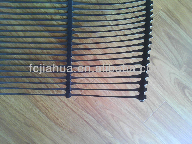 HDPE / PP Uniaxial Geogrids ,Factory with CE certificate