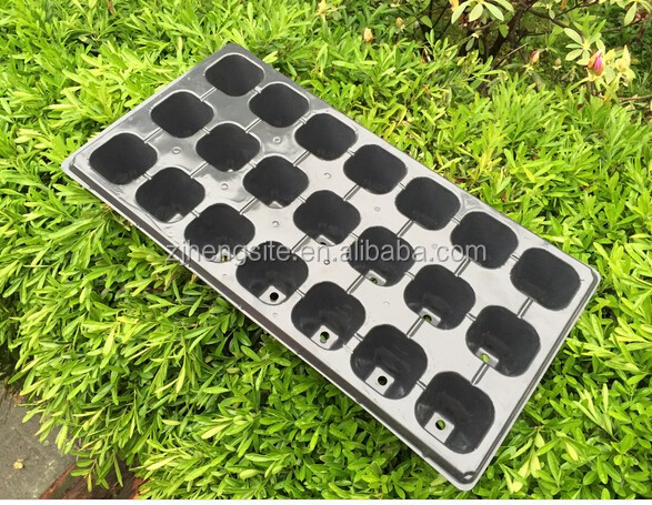 Recycled Black PS Seeding germination Trays