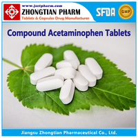 Compound Acetaminophen Tablets GMP Drug Manufacturer