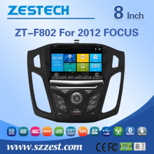 Bluetooth-enabled, GPS Navigation Function and Gps Navigator Type for Ford focus 2012