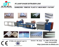 High quality two color pc led lamp shade co-extrusion line / production line / machine
