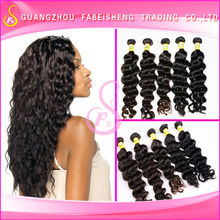 High quality hair products wholesale 5a brazilian loose wave human hair extension hair manicure