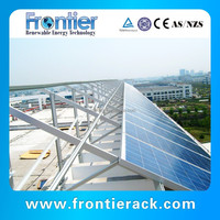 solar panel roof mounting rack 20kw for home