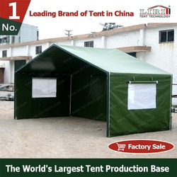 3x6m Disaster tent for relief , refugee tent