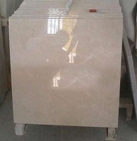 Good quality crema marfil marble slab yellow slab/tiles