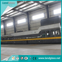 LandGlass CE/ISO Approved Automatic Jet Convection Heating Toughened Glass Tempering Unit