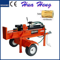 Log Splitter Forest Cutting Machine Hydraulic 13HP Gasoline Engine for sale