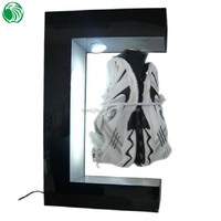 Fashion customized Top magnetic levitation adervertising trading card display case