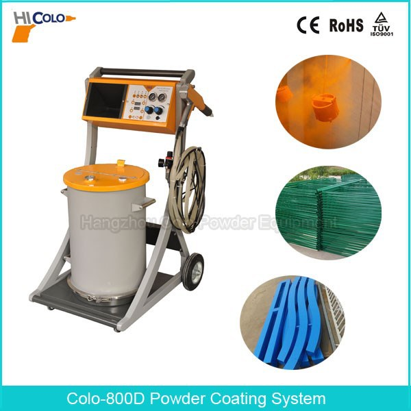 2015 New Electrostatic Powder Coating Equipment with Guns with CE