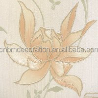 Colorful RC 3D Vinyl Wallpaper Stickers For Restaurant Decoration