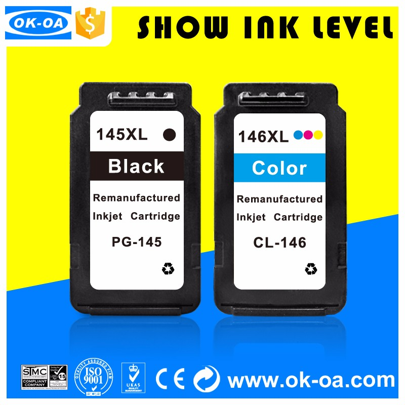 Good cartridge goes around Tensy inkjet cartridge chip resetter for canon cl146xl remanufactured ink cartridge