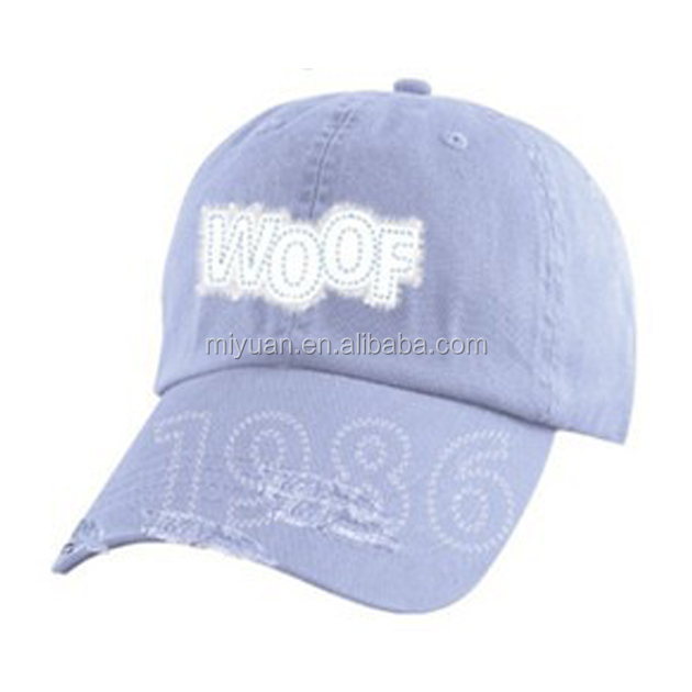 Europe branded eco friendly distressed cotton climbing applique embroidery baseball cap hat for premier leagues