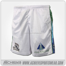 Professional all over printed sublimation basketball shorts custom made
