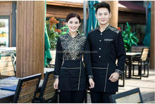 Fashion custom fashion western restaurants service uniform