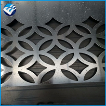 Hot selling custom five-pointed star shape perforated metal sheet