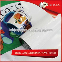 wide format strong sticky/tacky glossy sublimation paper