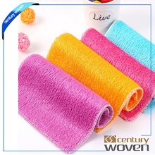 Bamboo dishcloth natural bamboo fiber cleaning towel