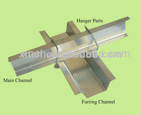 Ceiling light steel bar joist