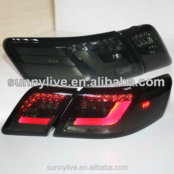 North American Version Camry V40 LED Tail Lights 2006-2009 year Smoke Black Color