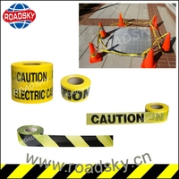 Warning Pe Traffic Yellow Caution Tape for Sale