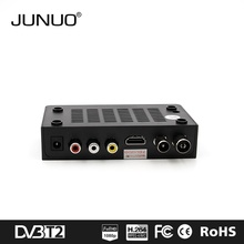 JUNUO china manufacture OEM great audio video quality mstar 7t01 HD digital tv receiver dvb-t2 Italy