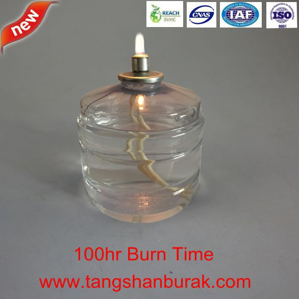 100 hrs Oil Liquid fuel cell candle lamp burner