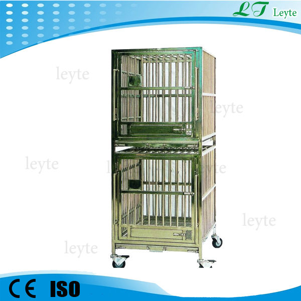 LTVC008 double layers vet cage