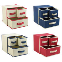 Custom Logo Collapsable Canvas Storage Box