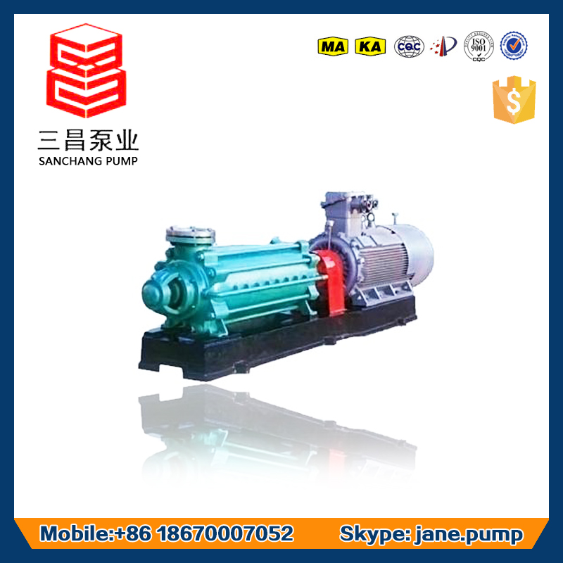 Multistage centrifugal waste water submersible water pump