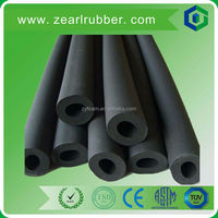Extra long NBR rubber sponge heat insulation closed cell pipe/tube for air conditioner