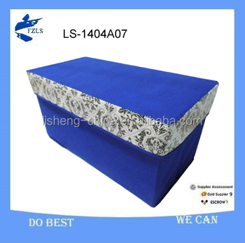 large capacity fabric double stool