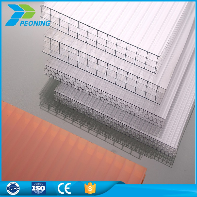 multi wall hard poly carbonate roof sheets