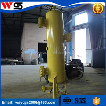 good gas liquid water cyclone powder separator
