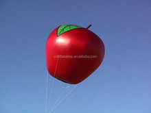 hot sale advertising inflatable heilum apple