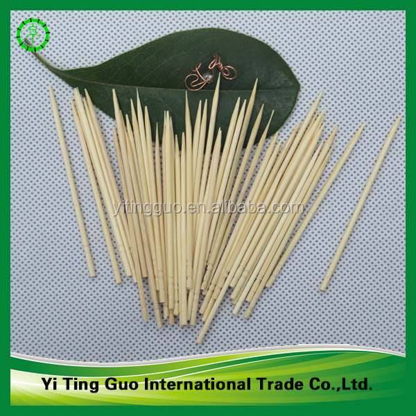 2.0mm thickness manufacturer bamboo toopicks with good quality