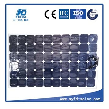 Flexible solar panel for boat 180W with size 1315*796*3mm