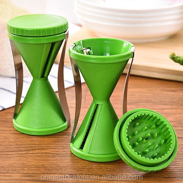 stainless steel manual vegetable fruit spiral slicer/vegetable spiralizer best price