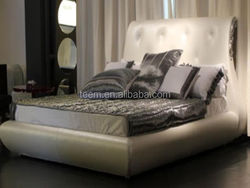 2014 Divany new classic bed hd designs outdoor furniture queen bed LS-413