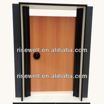 wood grain laminate kitchen cabinet door